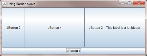 Java 6 Swing - Layout Managers