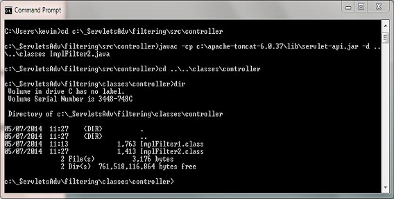 compile ImplFilter2 class